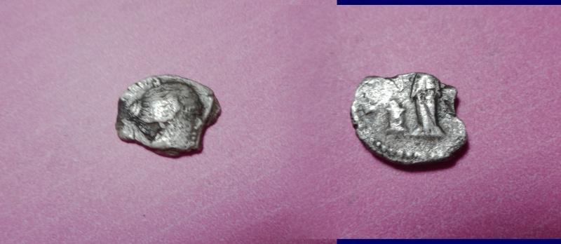 Fragment de monnaie de Faustine II ... ? F10