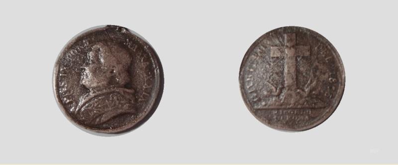 médaillon pius IX 1875 Pape_i11