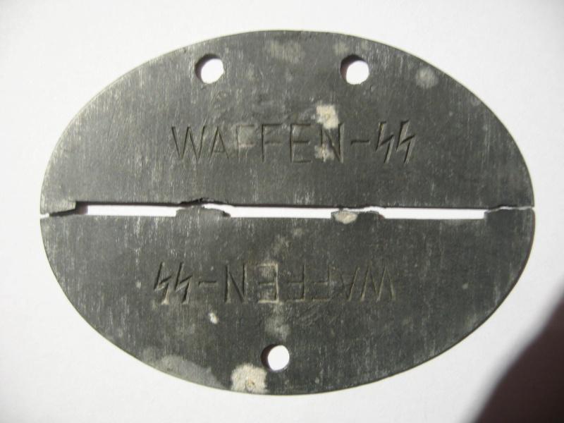 Mes plaques d'identités allemandes et dog tags usmc. Milita14