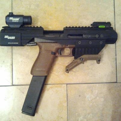 Glock 21 45 ACP (Adaptive Carbine Platform) aka 45acp PDW Fde_gl12