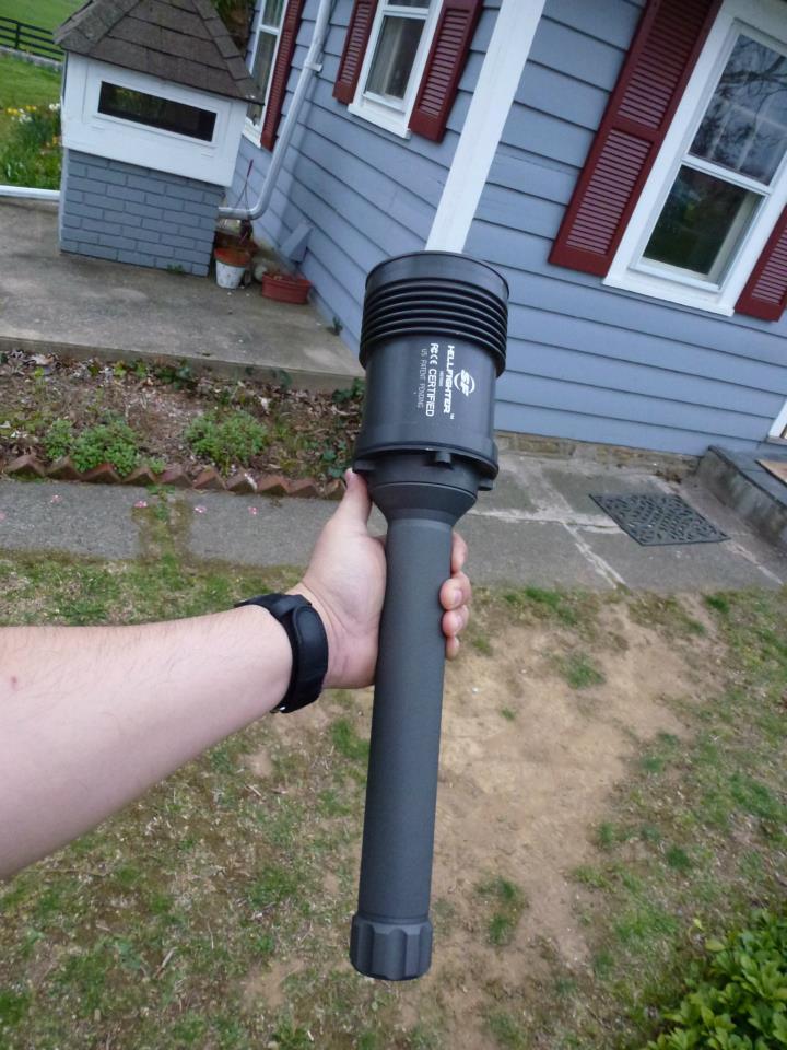 Anyone else a flashlight nut? Hellfi11