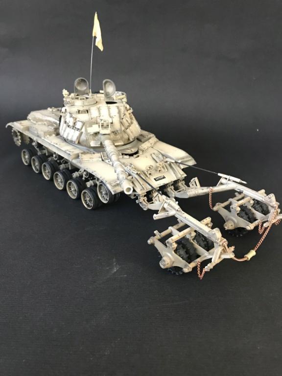 M60A1  KMT-4 Mine roller  90fe6010