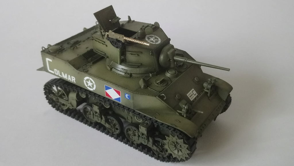 "M5A1 ""Colmar"" - 1/35 kit AFV Club Dsc_1111"