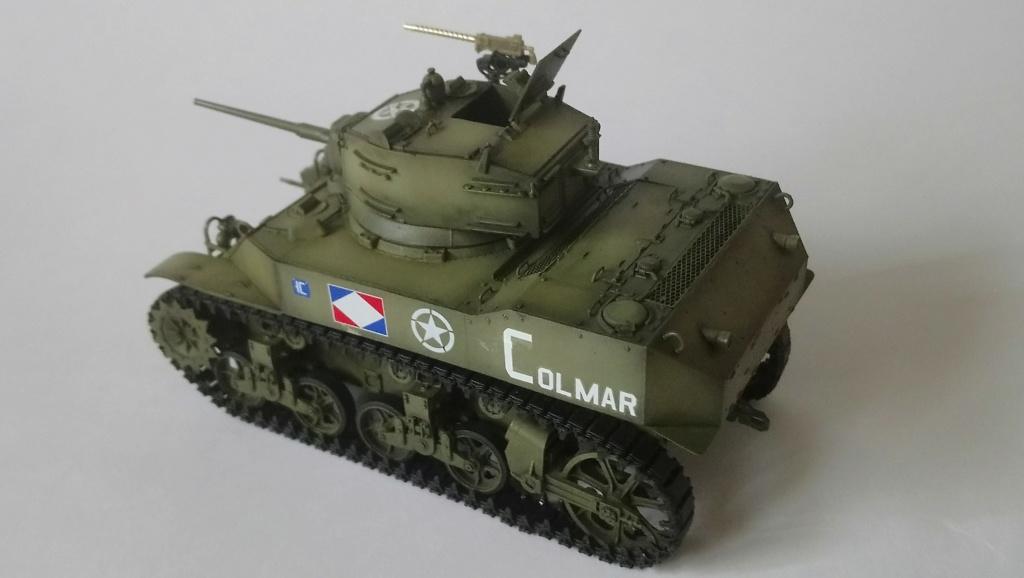 "M5A1 ""Colmar"" - 1/35 kit AFV Club Dsc_1114"