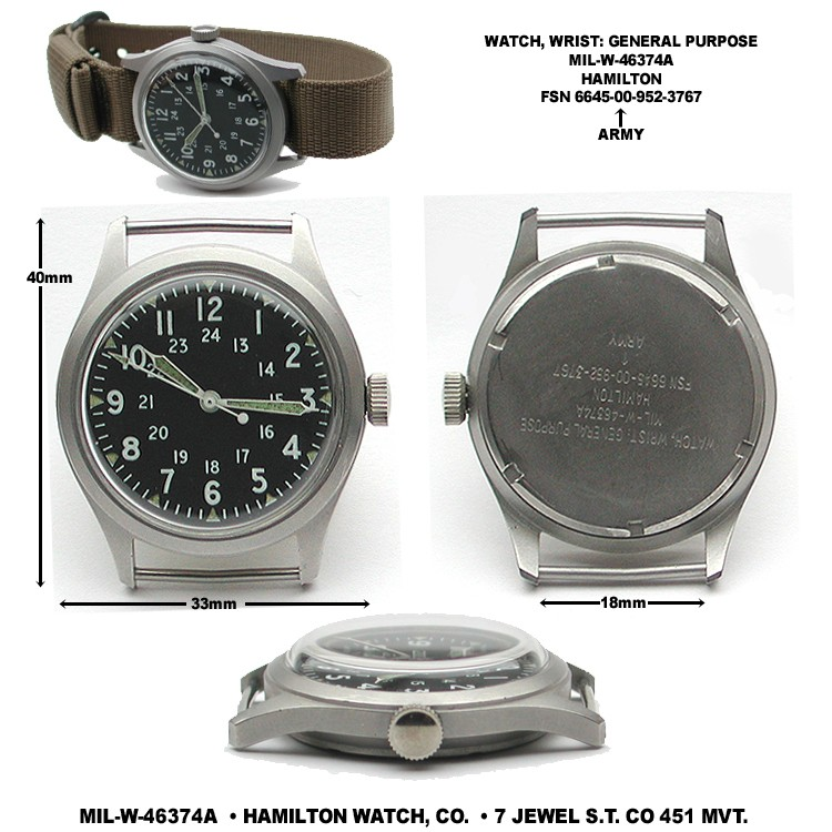 Ré-interprétation 2012 - Hamilton Khaki Field Automatique Atypeh10