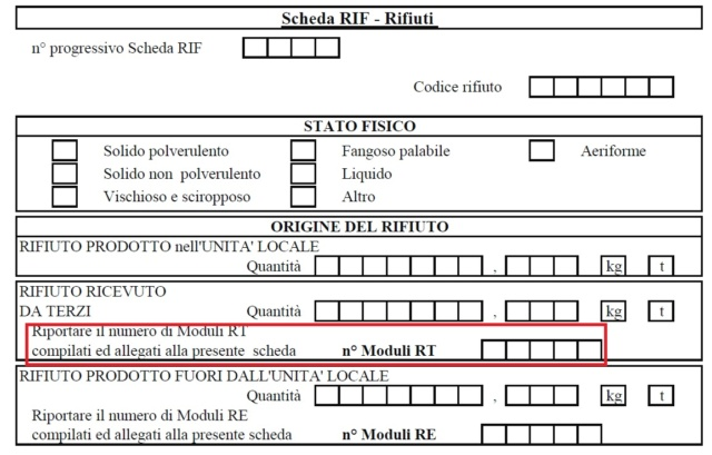 MUD 2019 SEZIONE IMBALLAGGI CER 191202 Immagi16