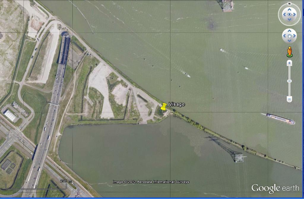 LA TERRE VUE DU CIEL.......Du Land Art à Amsterdam Un visage IJdijk, Amsterdam, Pays-Bas Ge_vis10