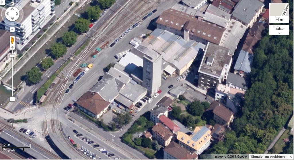 [SUISSE] - Destruction du silo au nord de la gare, Port Franc, Vevey Silo_n10