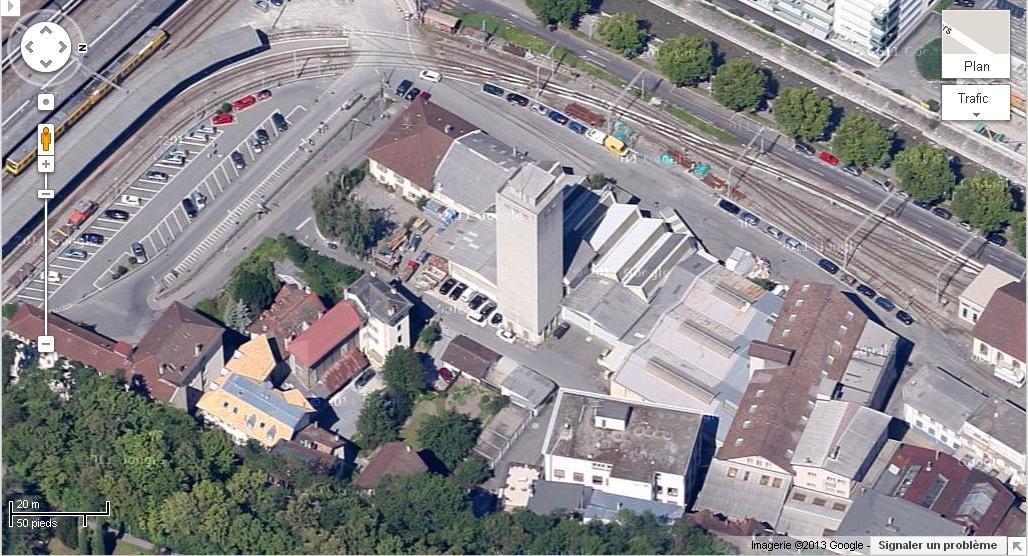 [SUISSE] - Destruction du silo au nord de la gare, Port Franc, Vevey Silo_o10