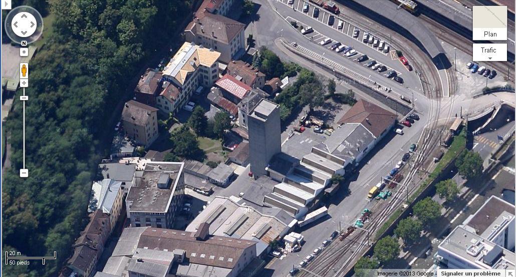 [SUISSE] - Destruction du silo au nord de la gare, Port Franc, Vevey Silo_s10