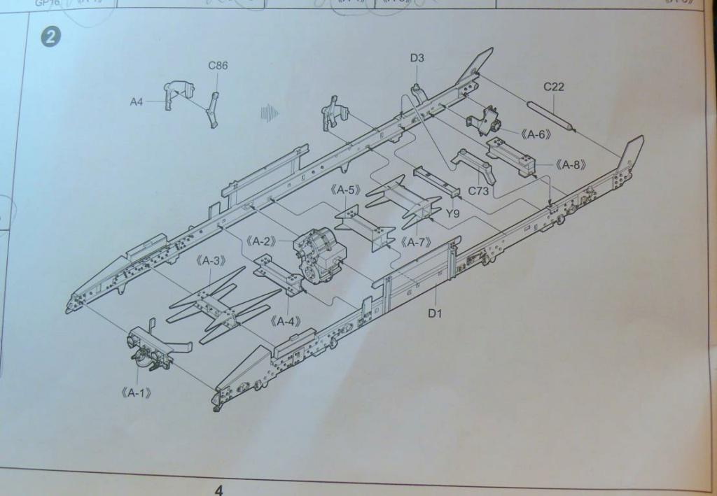 HEMTT M983A2 et Semi remorque M870A1 de TRUMPETER au 1/35 Hemtt172