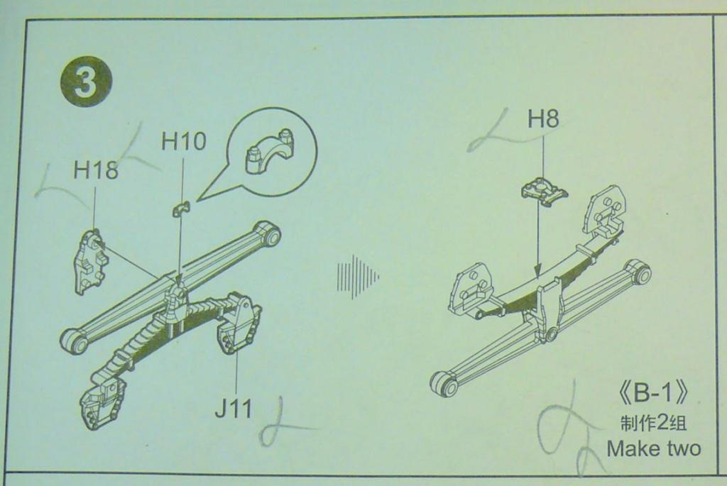 HEMTT M983A2 et Semi remorque M870A1 de TRUMPETER au 1/35 Hemtt183
