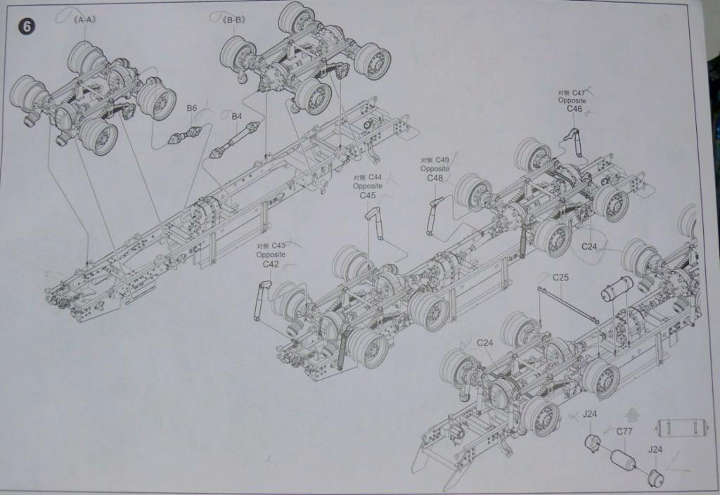 HEMTT M983A2 et Semi remorque M870A1 de TRUMPETER au 1/35 Hemtt203