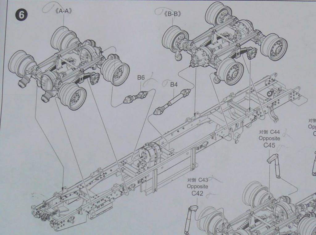HEMTT M983A2 et Semi remorque M870A1 de TRUMPETER au 1/35 Hemtt204