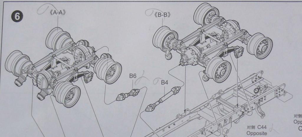 HEMTT M983A2 et Semi remorque M870A1 de TRUMPETER au 1/35 Hemtt205