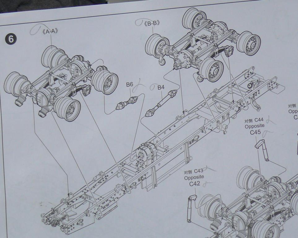 HEMTT M983A2 et Semi remorque M870A1 de TRUMPETER au 1/35 Hemtt207