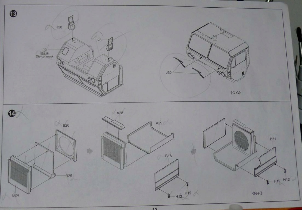 HEMTT M983A2 et Semi remorque M870A1 de TRUMPETER au 1/35 - Page 2 Hemtt252