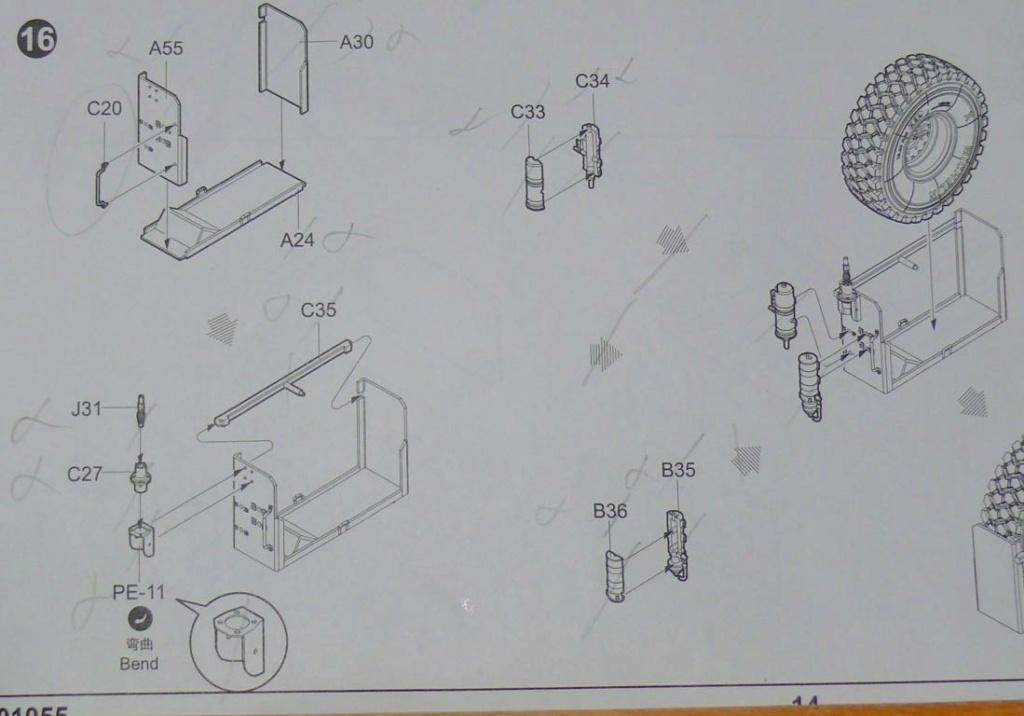 HEMTT M983A2 et Semi remorque M870A1 de TRUMPETER au 1/35 - Page 2 Hemtt261