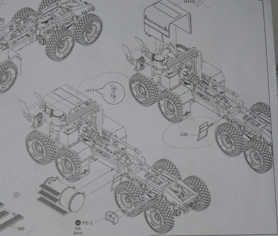 HEMTT M983A2 et Semi remorque M870A1 de TRUMPETER au 1/35 - Page 2 Hemtt280
