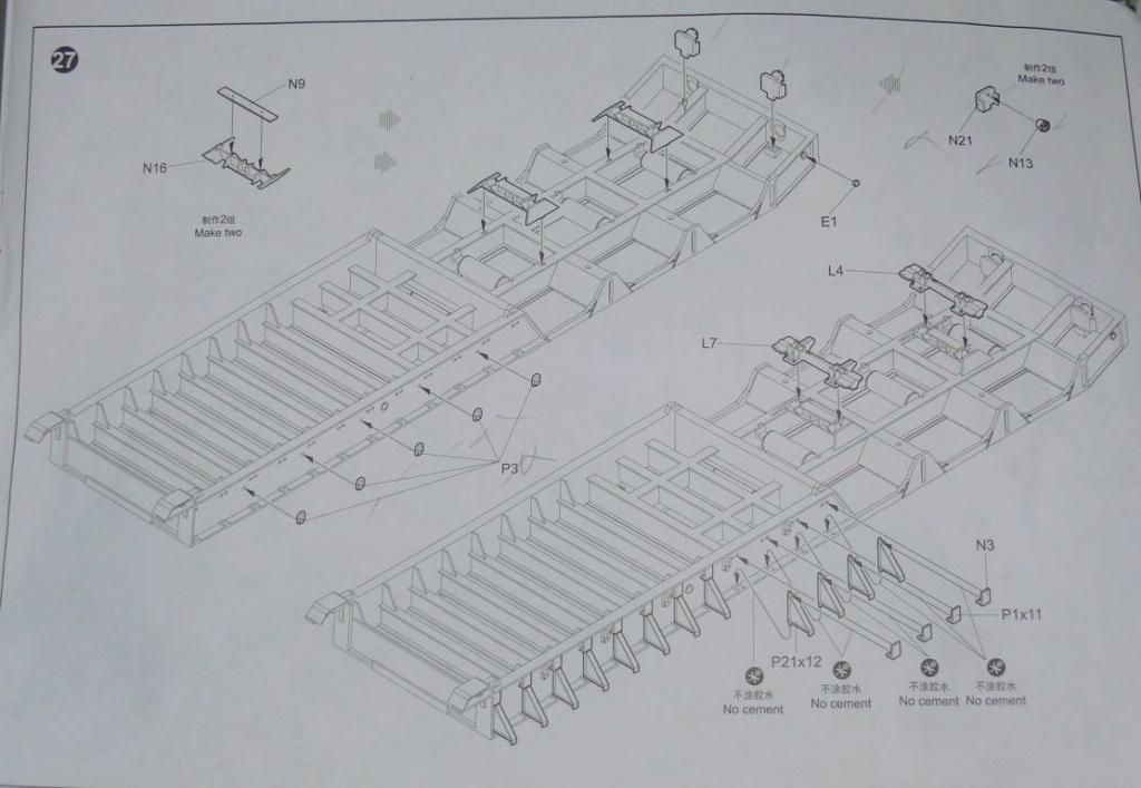 HEMTT M983A2 et Semi remorque M870A1 de TRUMPETER au 1/35 - Page 2 Hemtt340