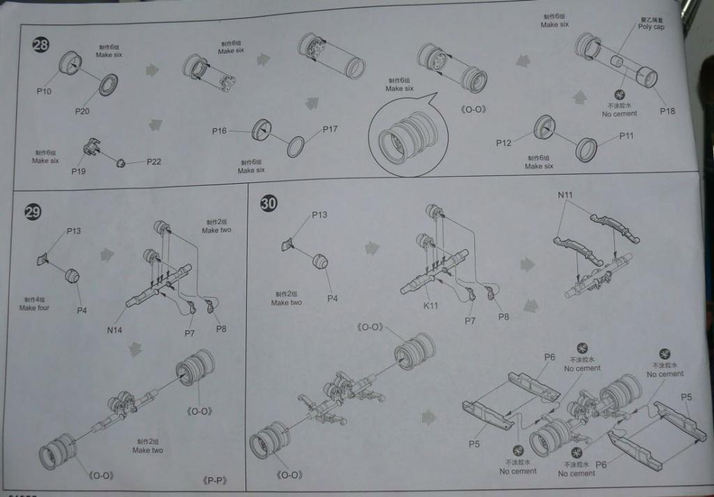 HEMTT M983A2 et Semi remorque M870A1 de TRUMPETER au 1/35 - Page 2 Hemtt351