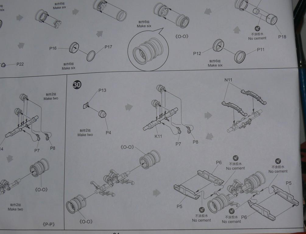 HEMTT M983A2 et Semi remorque M870A1 de TRUMPETER au 1/35 - Page 2 Hemtt352