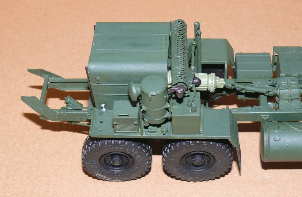 HEMTT M1142 Tactical Fire Fighting Truck TFFT de Trumpeter au 1/35 Hemtt498