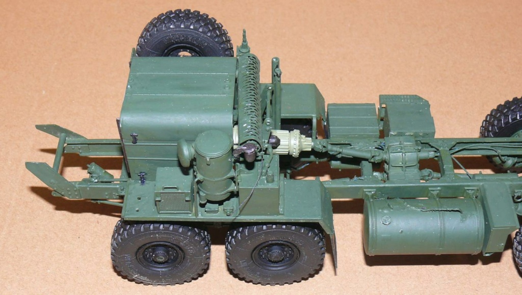 HEMTT M1142 Tactical Fire Fighting Truck TFFT de Trumpeter au 1/35 Hemtt525