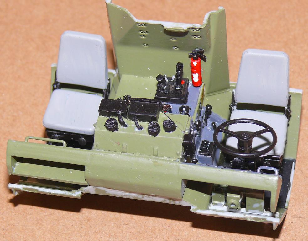 HEMTT M1142 Tactical Fire Fighting Truck TFFT de Trumpeter au 1/35 Hemtt544