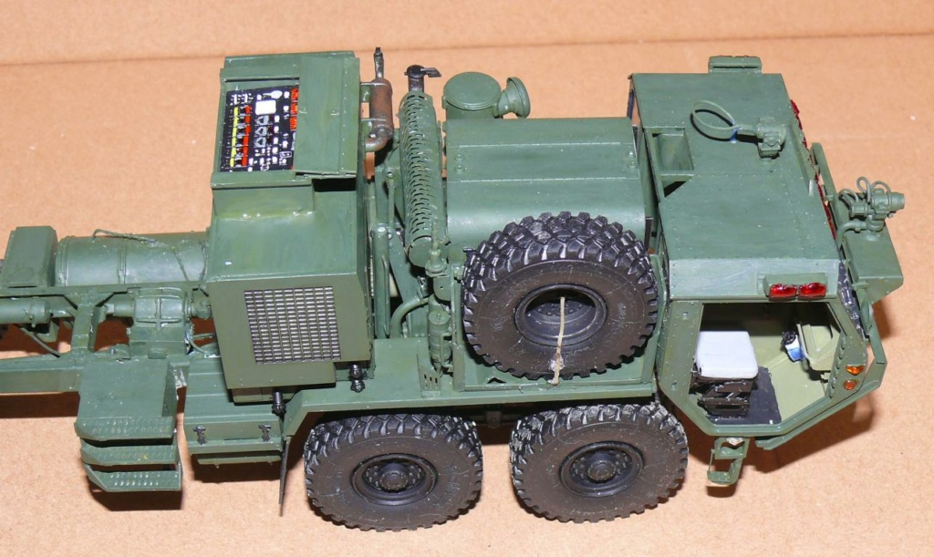 HEMTT M1142 Tactical Fire Fighting Truck TFFT de Trumpeter au 1/35 Hemtt595