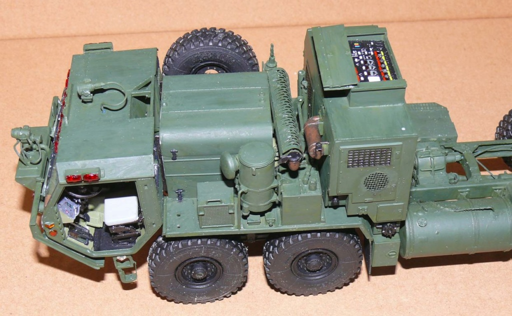 HEMTT M1142 Tactical Fire Fighting Truck TFFT de Trumpeter au 1/35 Hemtt602