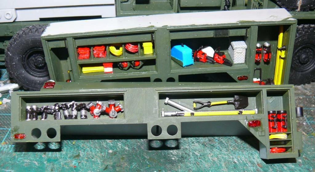 HEMTT M1142 Tactical Fire Fighting Truck TFFT de Trumpeter au 1/35 - Page 2 Hemtt665