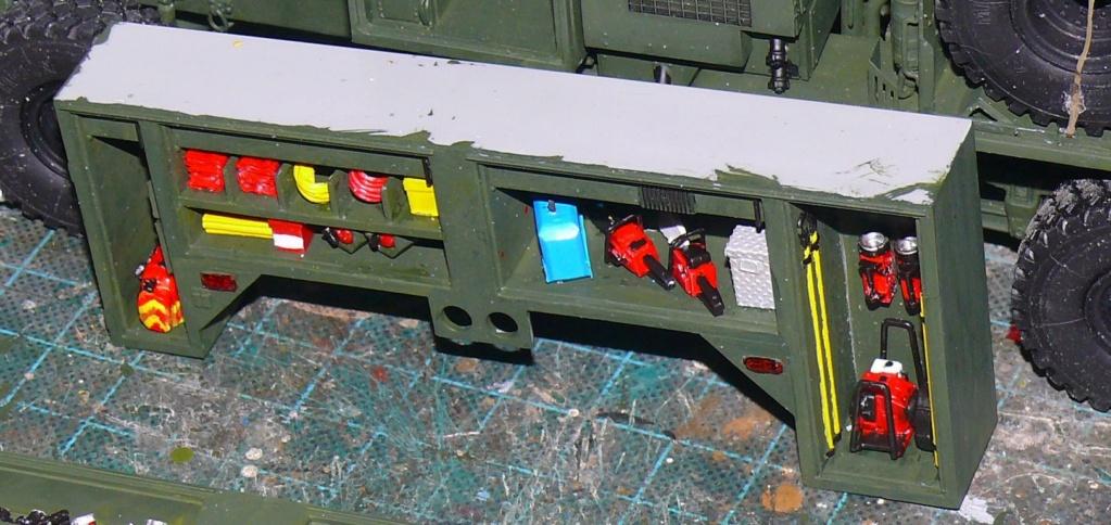 HEMTT M1142 Tactical Fire Fighting Truck TFFT de Trumpeter au 1/35 - Page 2 Hemtt666