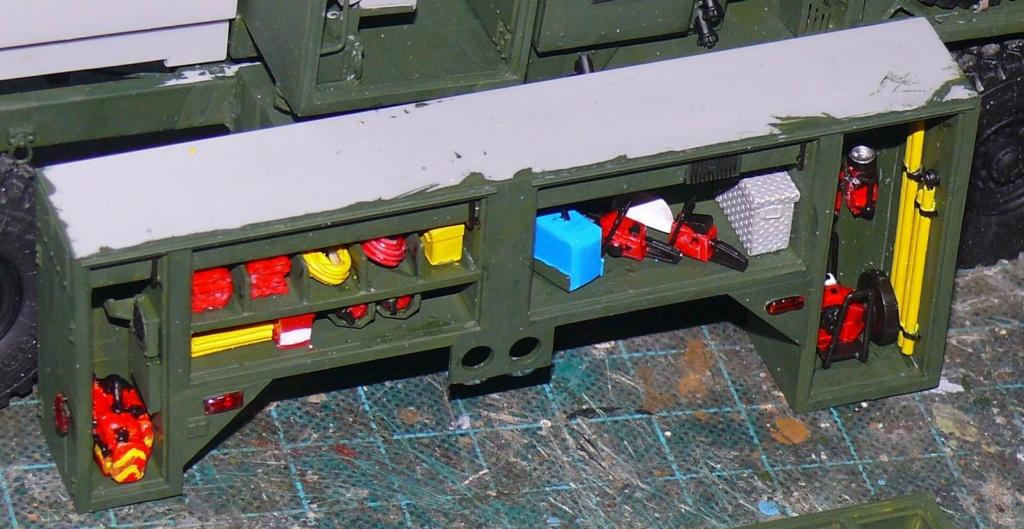 HEMTT M1142 Tactical Fire Fighting Truck TFFT de Trumpeter au 1/35 - Page 2 Hemtt667