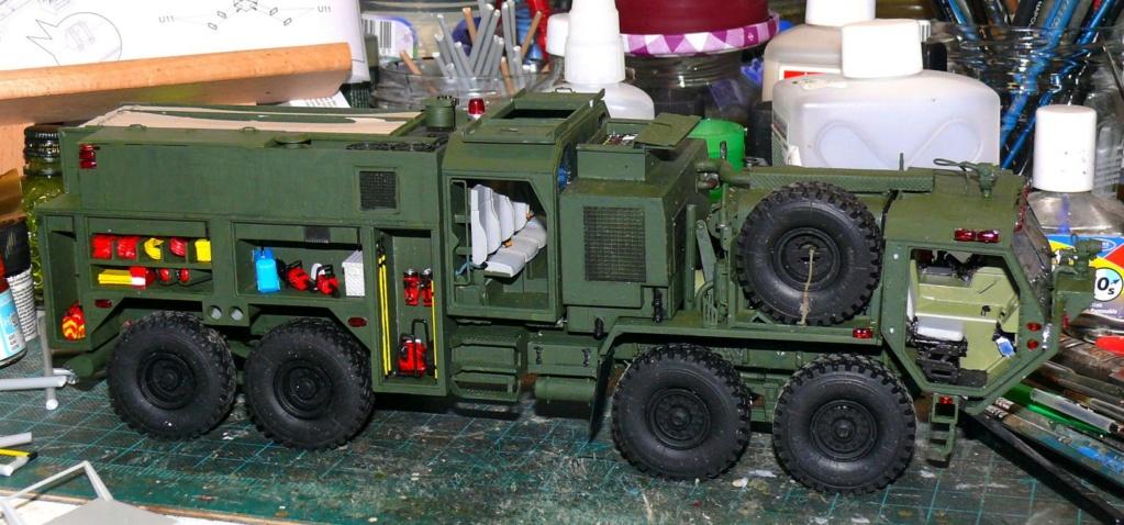 HEMTT M1142 Tactical Fire Fighting Truck TFFT de Trumpeter au 1/35 - Page 2 Hemtt685