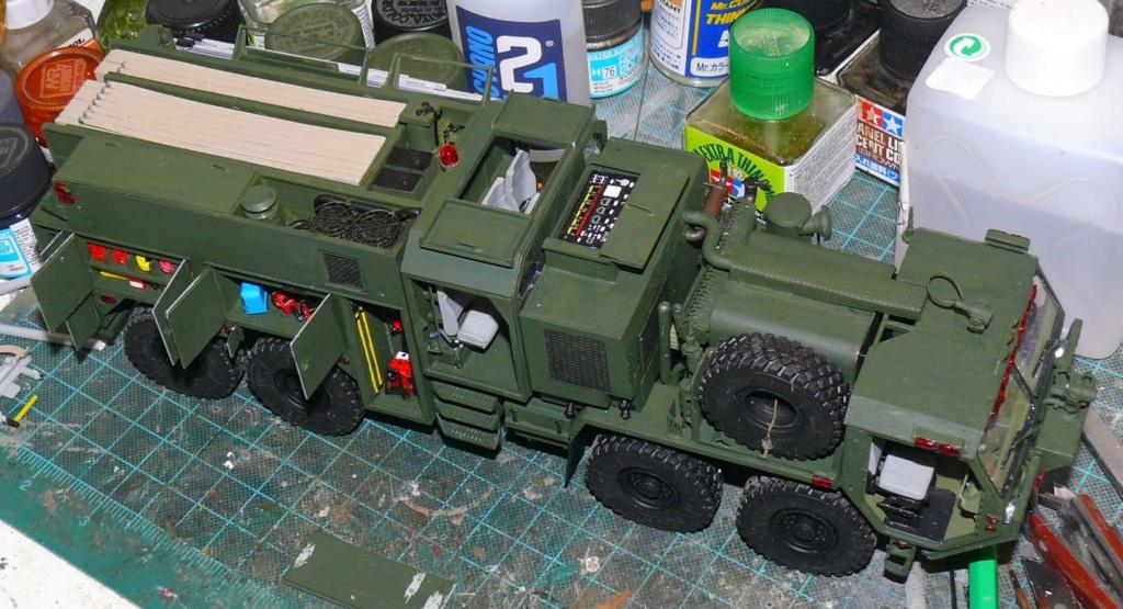 HEMTT M1142 Tactical Fire Fighting Truck TFFT de Trumpeter au 1/35 - Page 2 Hemtt711