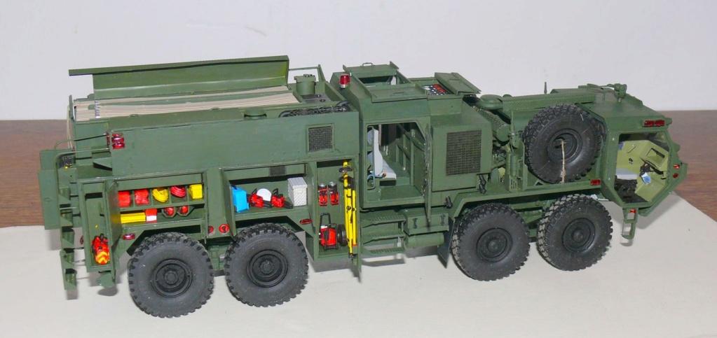 HEMTT M1142 Tactical Fire Fighting Truck TFFT de Trumpeter au 1/35 - Page 3 Hemtt746