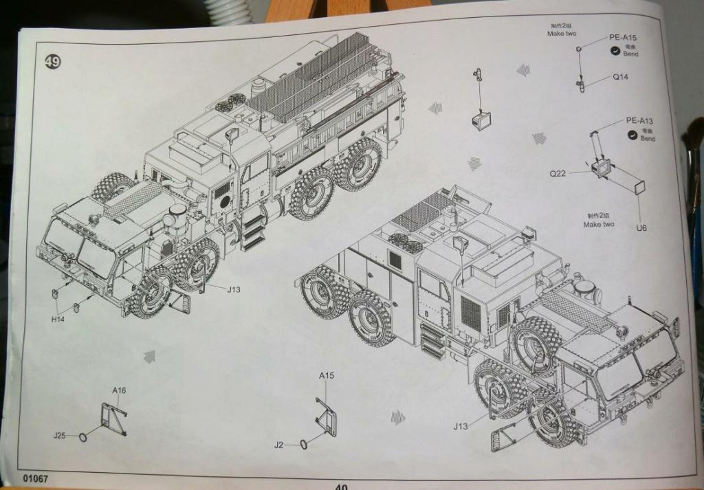 HEMTT M1142 Tactical Fire Fighting Truck TFFT de Trumpeter au 1/35 - Page 3 Hemtt783
