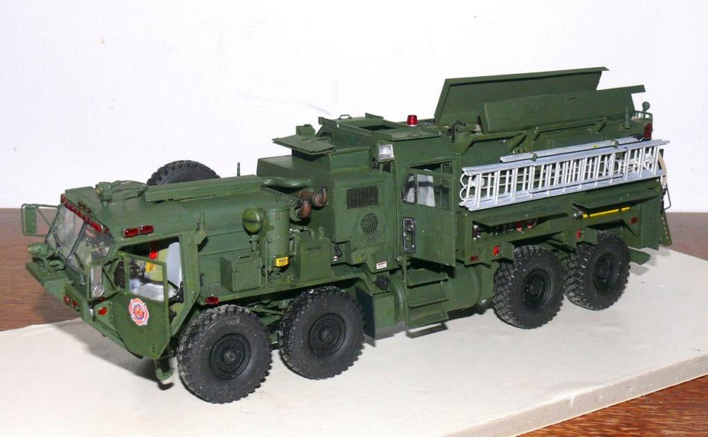 HEMTT M1142 Tactical Fire Fighting Truck TFFT de Trumpeter au 1/35 - Page 3 Hemtt801