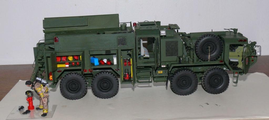 HEMTT M1142 Tactical Fire Fighting Truck TFFT de Trumpeter au 1/35 - Page 3 Hemtt825