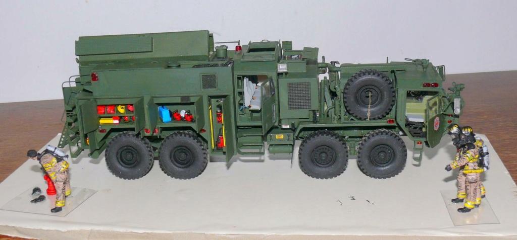 HEMTT M1142 Tactical Fire Fighting Truck TFFT de Trumpeter au 1/35 - Page 3 Hemtt854