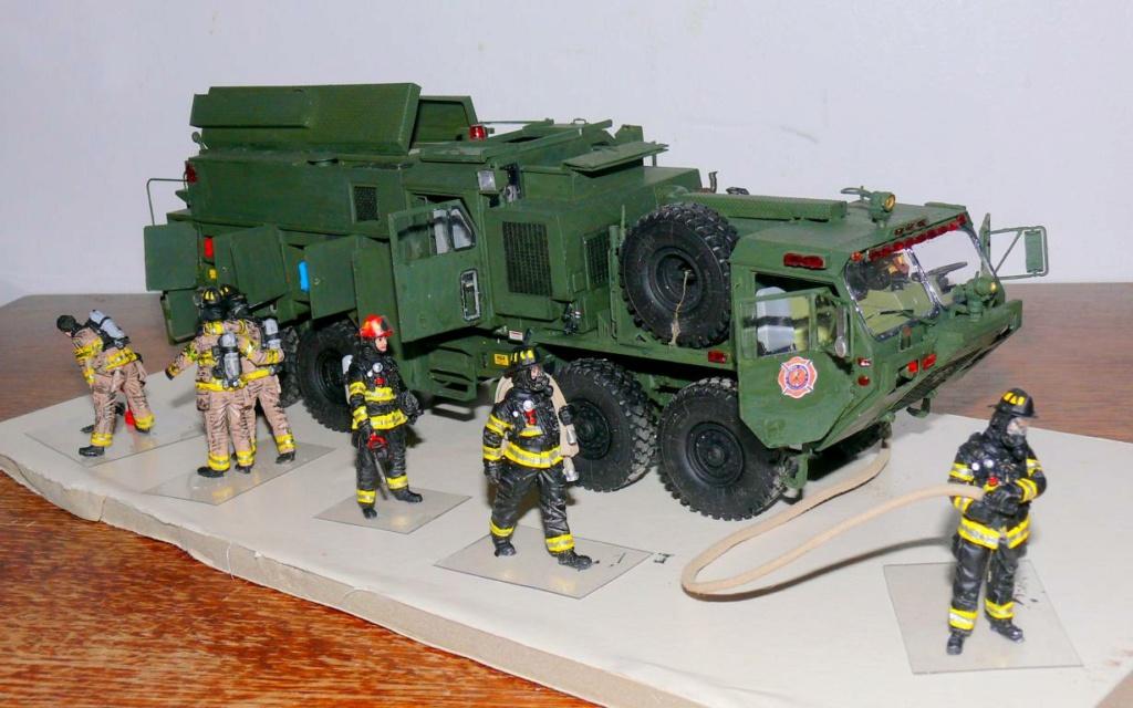 HEMTT M1142 Tactical Fire Fighting Truck TFFT de Trumpeter au 1/35 - Page 4 Hemtt901
