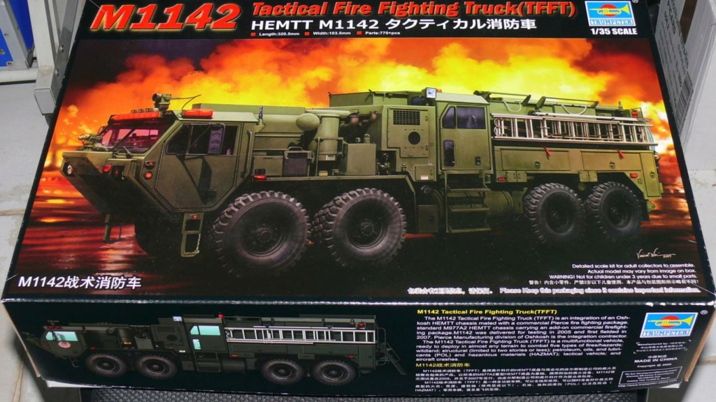 HEMTT M1142 Tactical Fire Fighting Truck TFFT de Trumpeter au 1/35 M1142_10