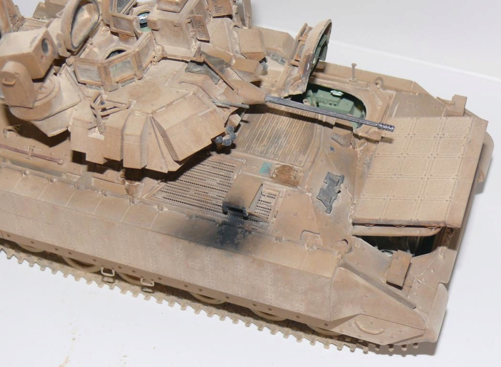 M3A3 BRADLEY w/BUSK III U.S. CAVALRY FIGHTING VEHICLE DE MENG Au 1/35 - Page 2 P1300542