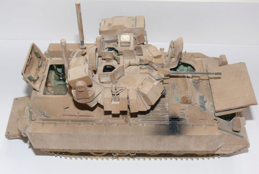 M3A3 BRADLEY w/BUSK III U.S. CAVALRY FIGHTING VEHICLE DE MENG Au 1/35 - Page 2 P1300543