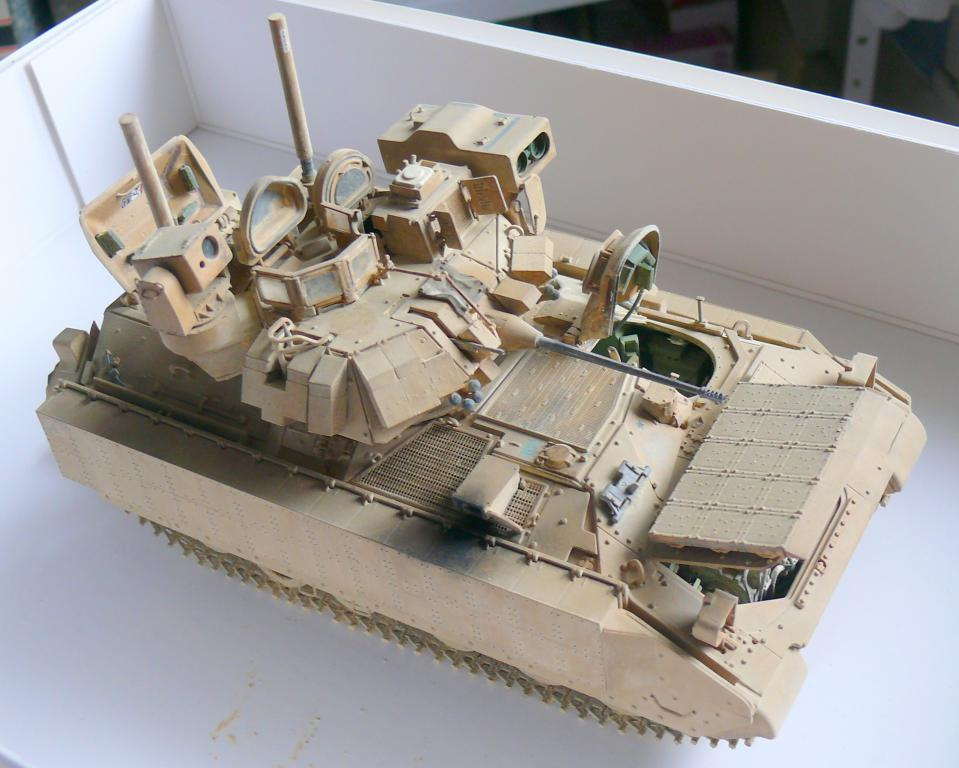 M3A3 BRADLEY w/BUSK III U.S. CAVALRY FIGHTING VEHICLE DE MENG Au 1/35 - Page 2 P1300547