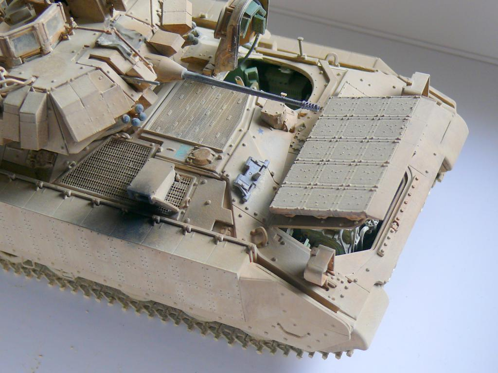 M3A3 BRADLEY w/BUSK III U.S. CAVALRY FIGHTING VEHICLE DE MENG Au 1/35 - Page 2 P1300548