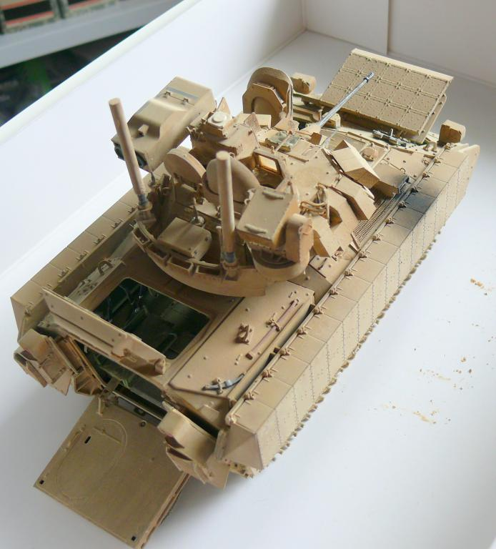 M3A3 BRADLEY w/BUSK III U.S. CAVALRY FIGHTING VEHICLE DE MENG Au 1/35 - Page 2 P1300550