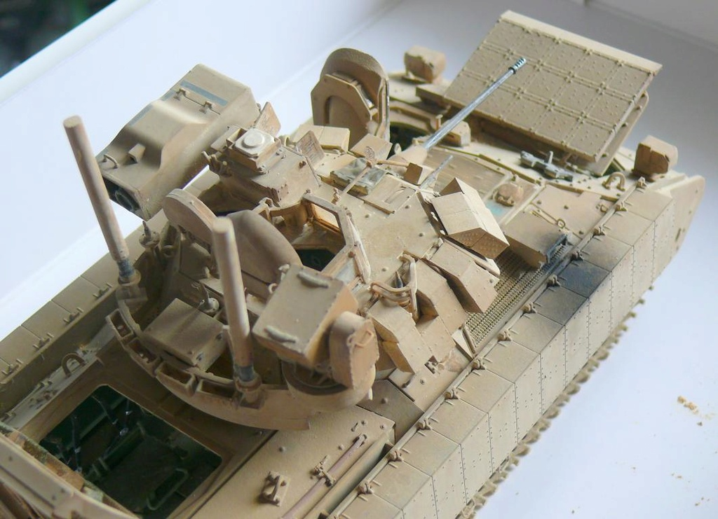 M3A3 BRADLEY w/BUSK III U.S. CAVALRY FIGHTING VEHICLE DE MENG Au 1/35 - Page 2 P1300551