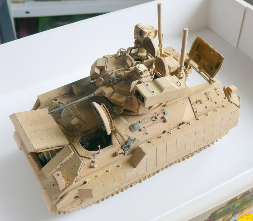 M3A3 BRADLEY w/BUSK III U.S. CAVALRY FIGHTING VEHICLE DE MENG Au 1/35 - Page 2 P1300554